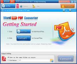Abdio Word to PDF Converter