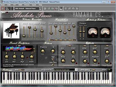 Download Absolute Yamaha C6 Virtual Piano