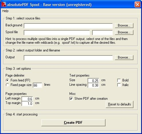 Download absolutePDF-Spool Base