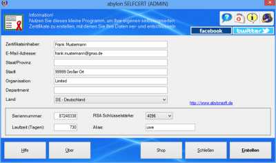 Download abylon SELFCERT