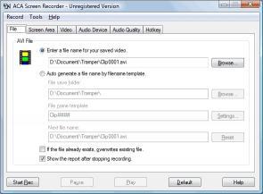 Download ACA Screen Recorder
