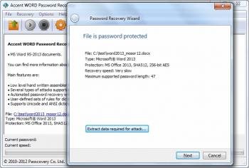 Download Accent WORD Password Recovery