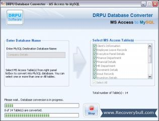 Download Access Database to MySQL Conversion Tool