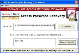 Download Access DB Password Recovery