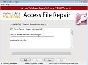Download Access File Recovery Tools