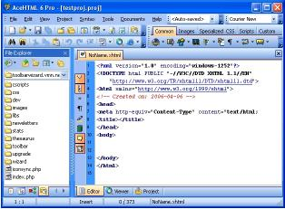 Download AceHTML Freeware
