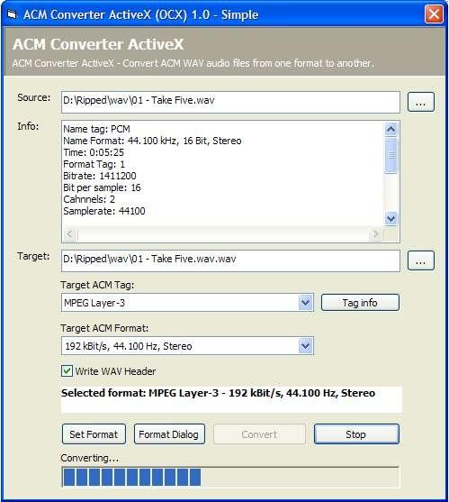 Download ACM Converter ActiveX (OCX)