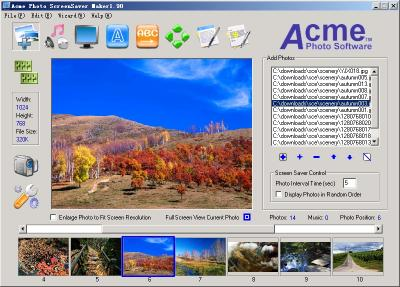 Download ACME Photo Screensaver Maker