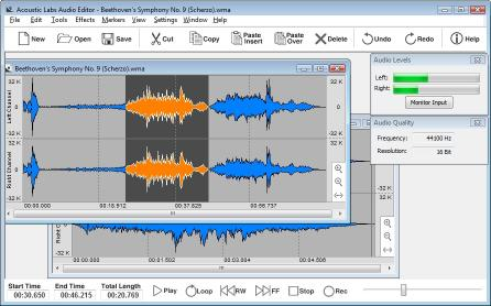 Download Acoustic Labs Audio Editor