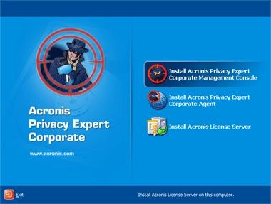 Download Acronis Privacy Expert Corporate