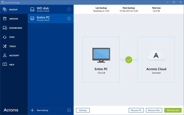 Download Acronis True Image Unlimited for PC and Mac