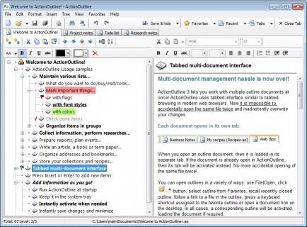 Download ActionOutline Lite