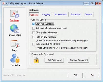 Download keylogger freeware keystroke recorder keyboard activity.