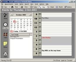 Download Acute Softwares Diary