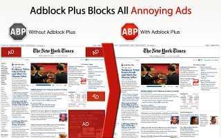 Download Adblock Plus for Google Chrome