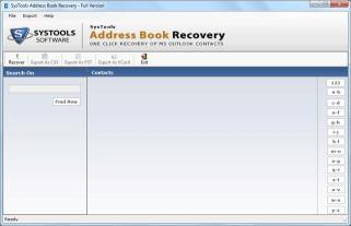 Download Address Book Recovery Software