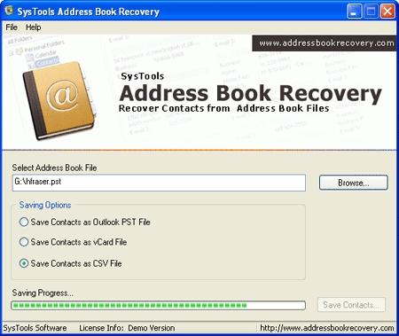 Download Address Book Recovery Tool