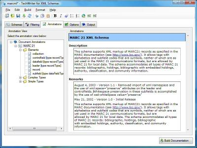 Download Adivo TechWriter for XML Schemas