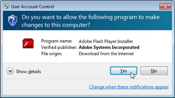 adobe flash player setup free download for windows 7
