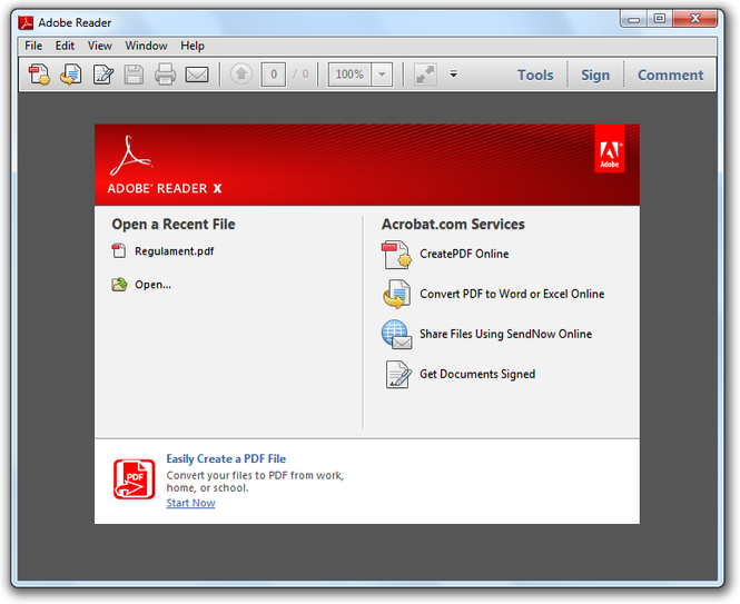 Adobe reader download for windows 7 free