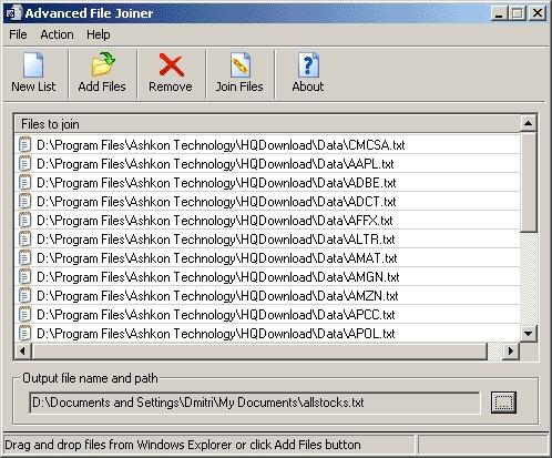 Download Advanced File Joiner
