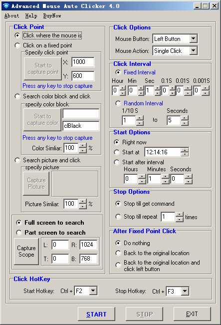 Download Advanced Mouse Auto Clicker