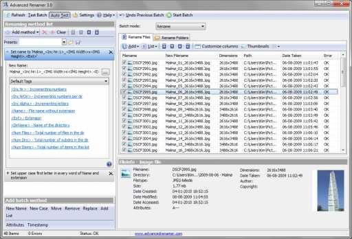 Download Advanced Renamer