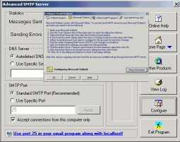 Download Advanced SMTP Server