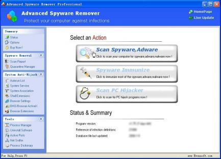 Download Advanced Spyware Remover