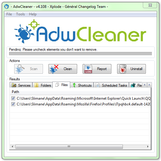AdwCleaner - standaloneinstaller com