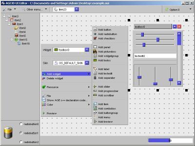 Download AGE UI Editor