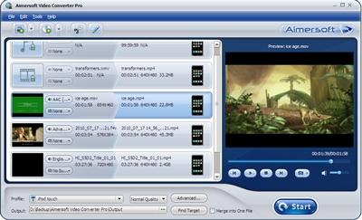 Download Aimersoft Video Converter Pro