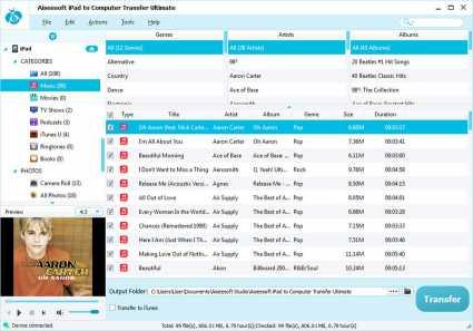 Aiseesoft iPad to Computer Transfer Pro