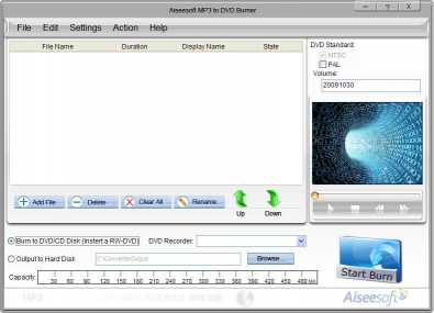 Aiseesoft MP3 to DVD Burner