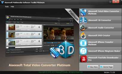 Aiseesoft Multimedia Toolkit Platinum