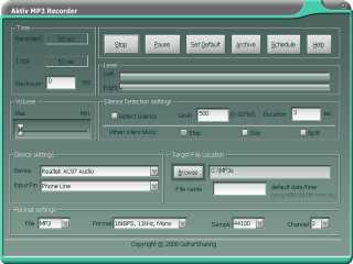 Download Aktiv MP3 Recorder