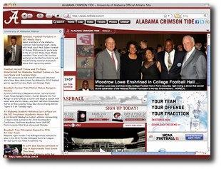 Download Alabama Crimson Tide Firefox Theme