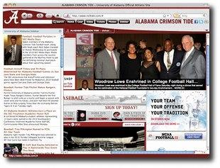 Download Alabama Crimson Tide IE Browser Theme