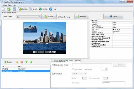 Download Aleo Flash Pan Zoom Viewer