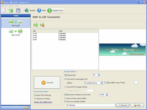 Download Aleo SWF GIF Converter