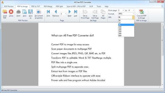 All Free PDF Converter