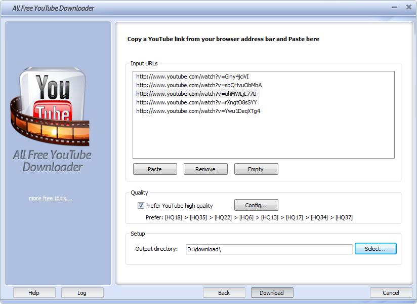 All Free YouTube Downloader - standaloneinstaller com