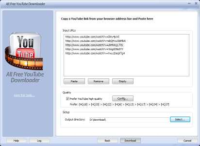 All Free YouTube Downloader