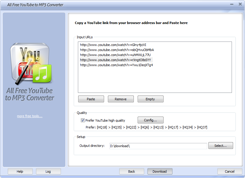 All Free YouTube to MP3 Converter - standaloneinstaller com