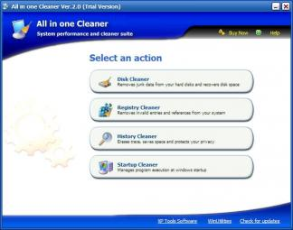 Download All in one Cleaner