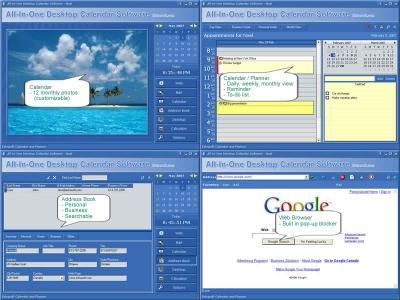 Download All-In-One Desktop Calendar Software