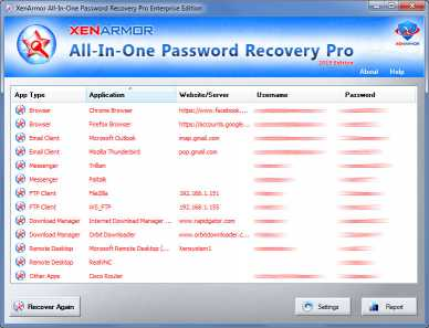 All In One Password Recovery Pro 2019