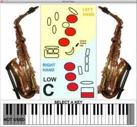 Alto Sax Player for Mac