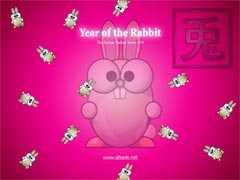 ALTools Lunar Zodiac Rabbit Wallpaper