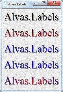 Download Alvas.Labels
